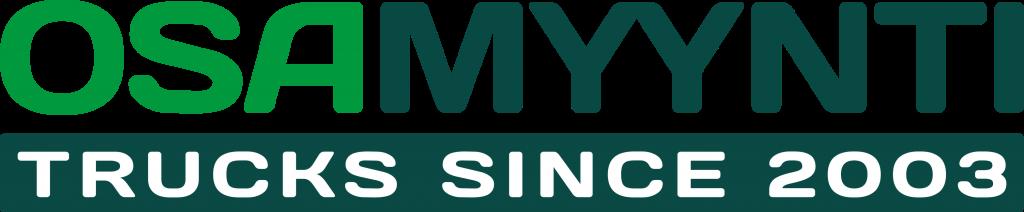 Osamyynti_trucks_logo