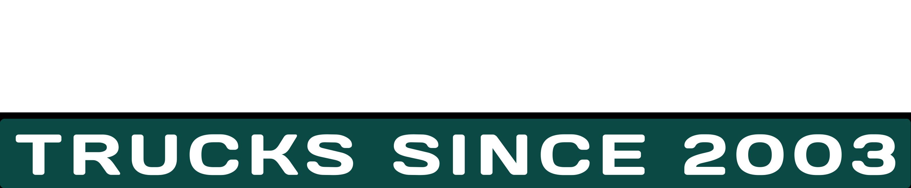 Osamyynti_trucks_logo_white